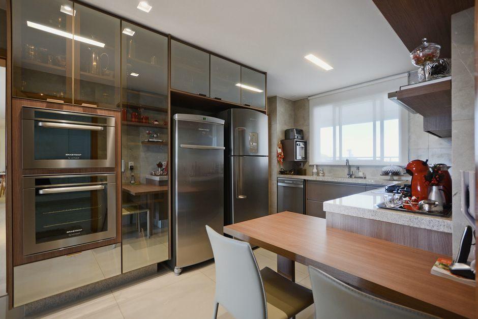 moveis de vidro para cozinha
