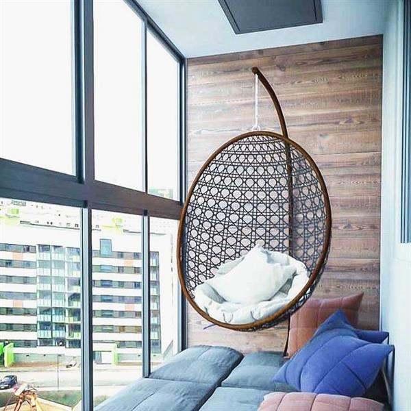 parede de madeira confortavel