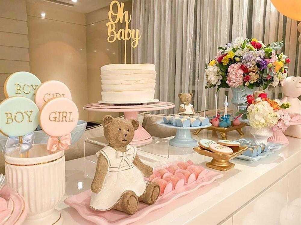 decoração com ursinhos na mesa