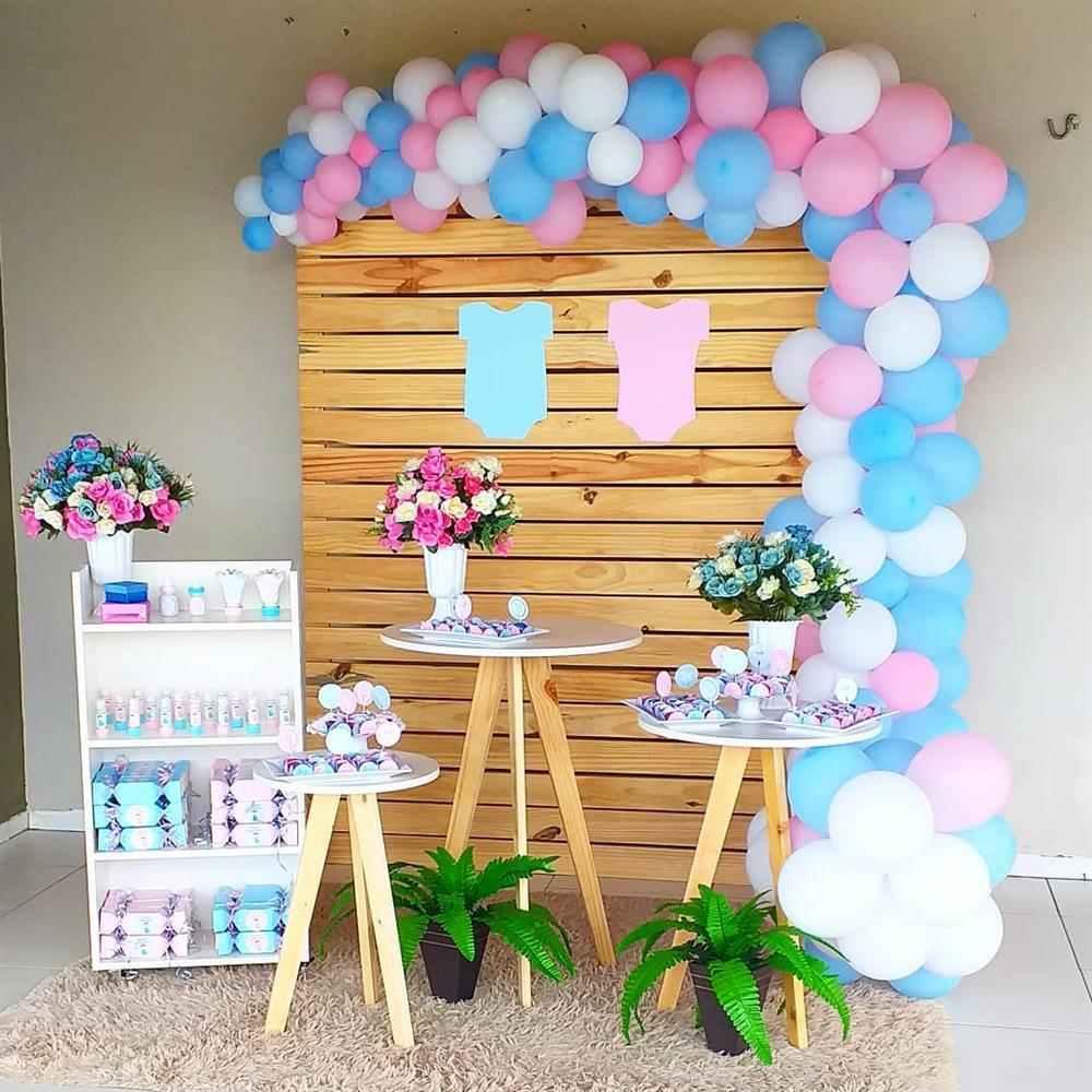 decoração com painel de pallets