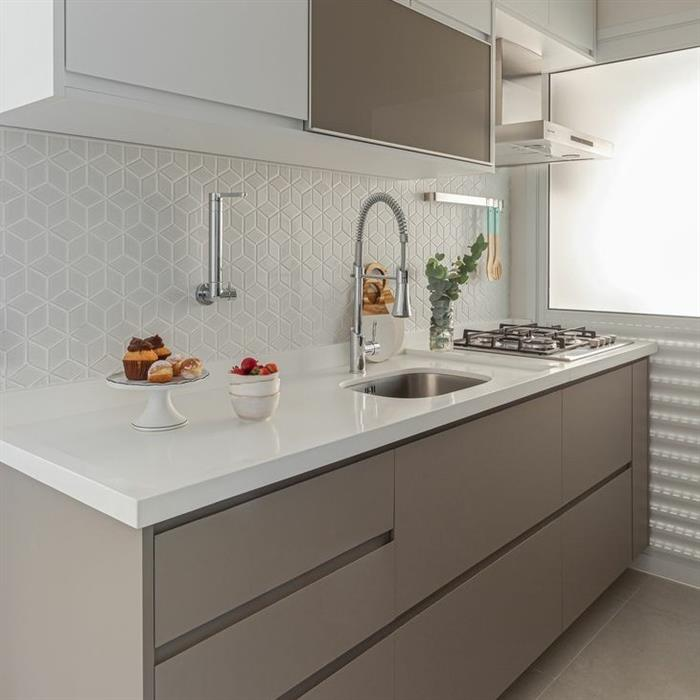 cozinha decorada pequena