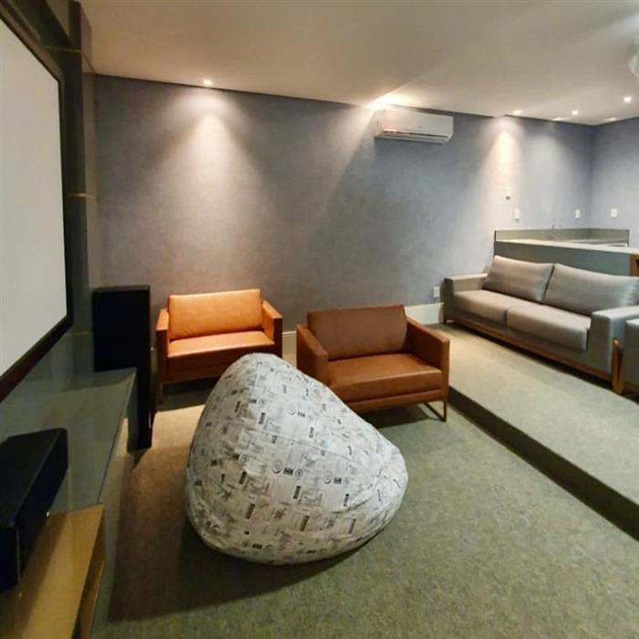 sala de cinema confortavel