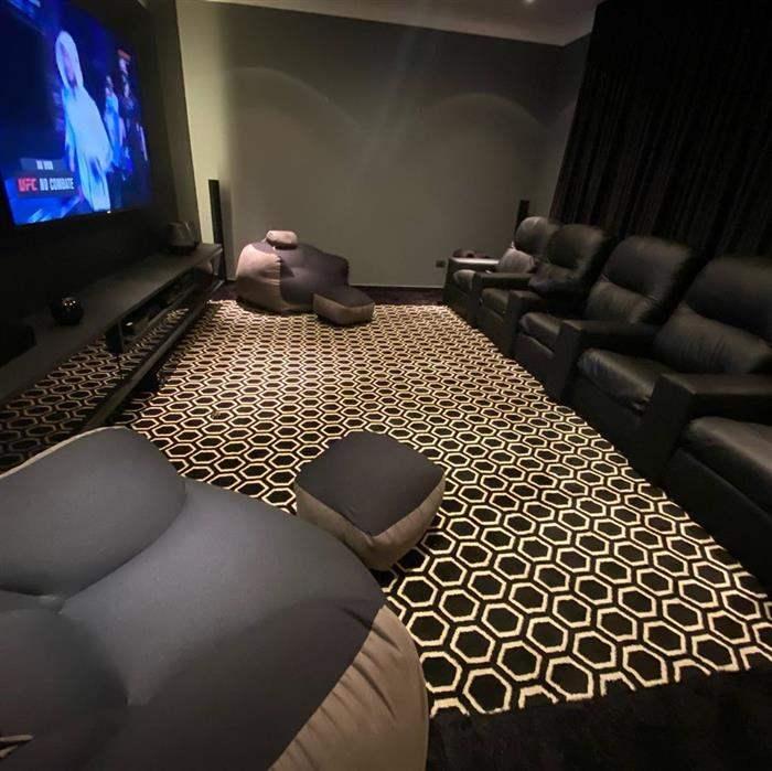 sala de cinema fotos