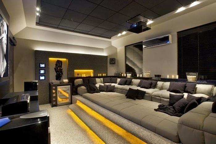 sala de cinema grande