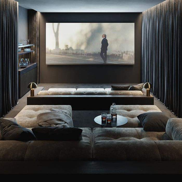 sala de cinema home