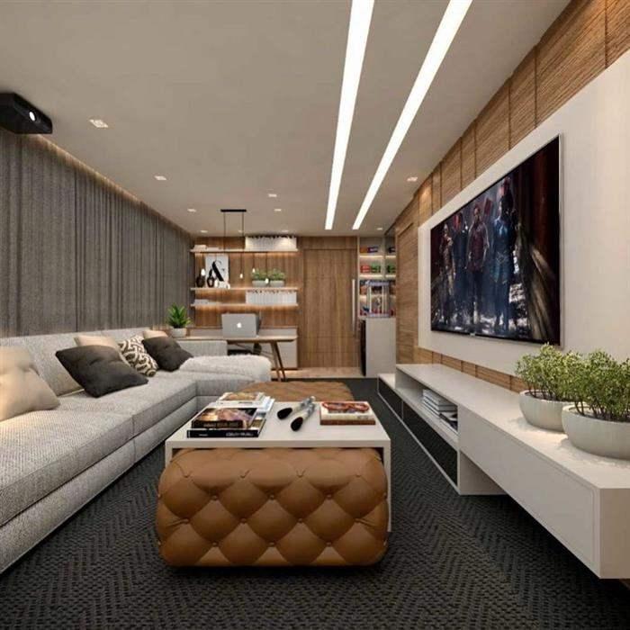 sala elegante p tv