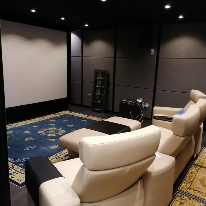 salas de cinema luxo