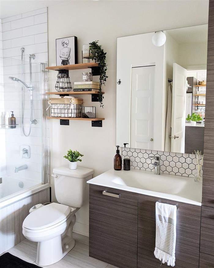 banheiro rustico apartamento