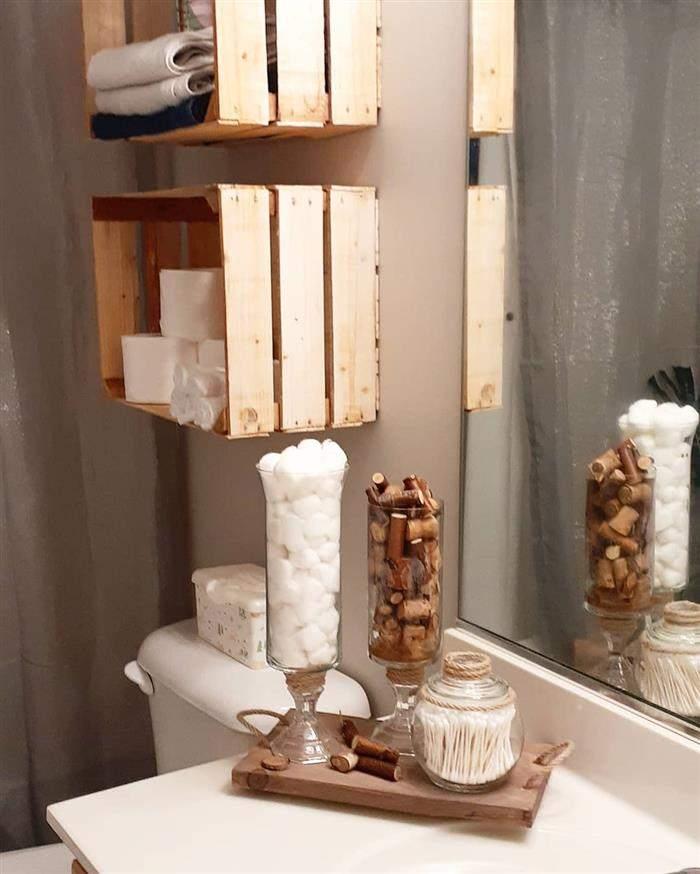 banheiro rustico e barato
