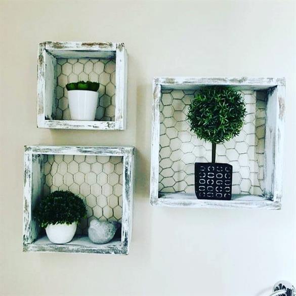 ideias de banheiro rustico