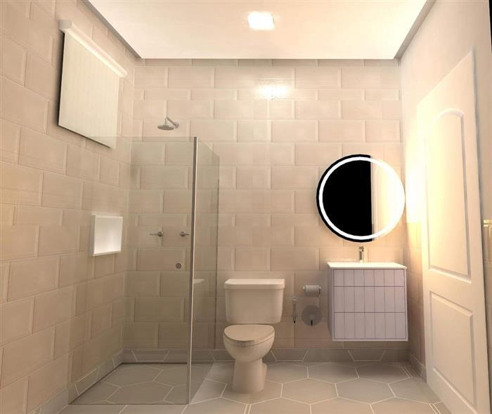 espelho redondo para banheiro