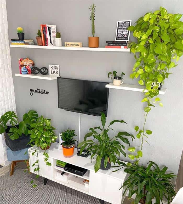 decoração barata e criativa para sala